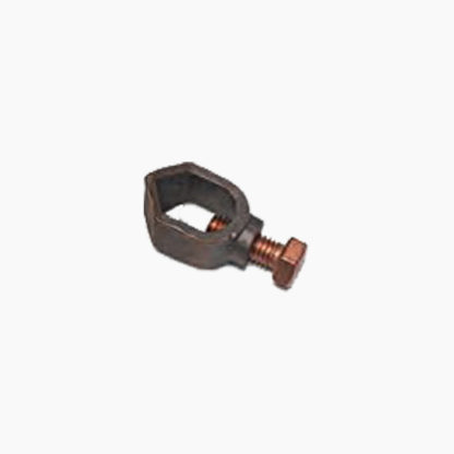 """Clamp for rods of dia. 5/8"""" (14mm) with cables of 16mm² up to 70mm²"""