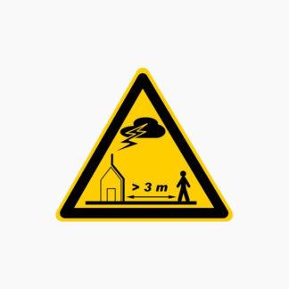 Plaque descente conducteur foudre